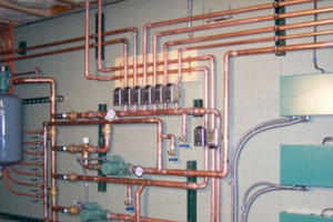 hydronic heat system